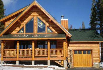Blok-house – imitacja bali drewnianych, z tworzyw sztucznych. materiały objętościowe