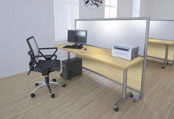 Por partições no escritório móvel? Como montar partições móveis no apartamento?