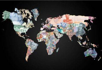 O que é isso – a moeda de diferentes países?