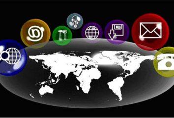 rede de comunicação moderna e sistema de comutação