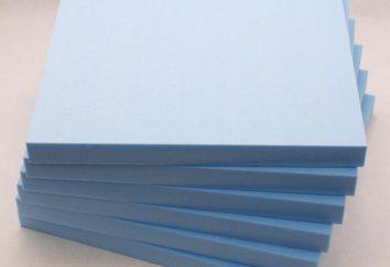 polystyrène expansé, penoplex: spécifications, comparaison et commentaires