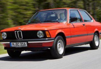 BMW: korpusy wszystkich typów. Co ciało na BMW? Ciało BMW przez lata niezarejestrowanych