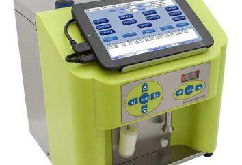 Analyseur de lait: caractéristiques et description