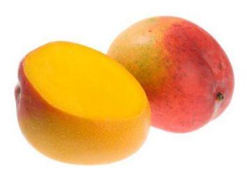 Was und wie die Mango reinigen?