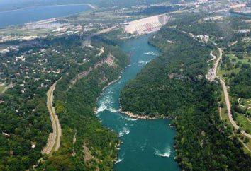 Cataratas – un río de América, con las únicas cascadas
