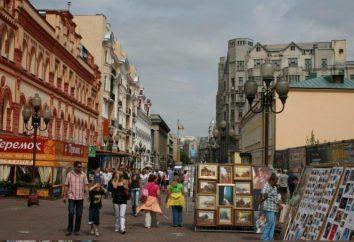 Vecchio Arbat: attrazioni. Vecchio Arbat, Mosca: la storia e le foto