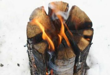 bougie finlandaise: assurer à long feu durable. bougie finlandaise avec ses propres mains