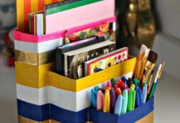 Jak zrobić organizer na urząd własnymi rękami: Idee, materiały, instrukcje,