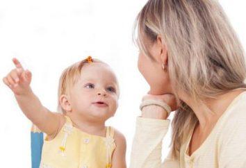 le développement du langage chez un enfant de 3-4 ans: le taux et le retard. jeux éducatifs, des poèmes pour enfants