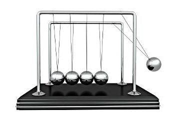 Bolas de Newton – Un gran recuerdo para el estrés