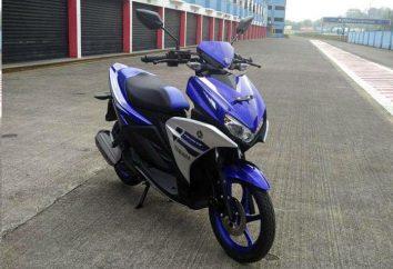 Yamaha Aerox – leve como uma brisa