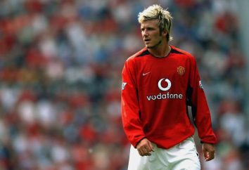 Joueur de football David Beckham: biographie, vie personnelle, carrière