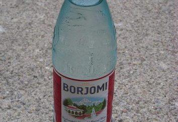 """woda mineralna """"Borjomi"""": korzyści i szkód dla człowieka"""