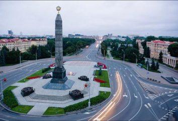 Plaza de la Victoria en Minsk