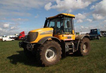 JCB tractor – un ayudante universal,