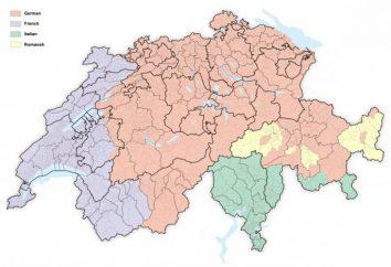 Jakie języki są wypowiedziane w Szwajcarii? Językami urzędowymi kraju