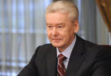 Sergei Sobyanin: biografia, il lavoro