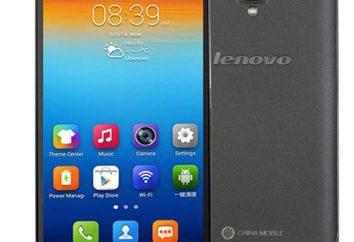 """Smartphone """"Lenovo S898T"""": description, caractéristiques, prix"""