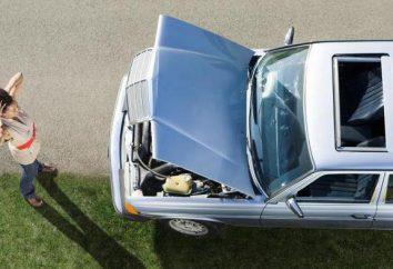 Pourquoi bloquer la voiture en appuyant sur le gaz?