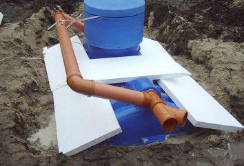 tanques sépticos de plástico: las principales características de