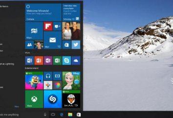 """System Windows 10 """"Start"""" ustawienie menu: Procedury, instrukcje"""