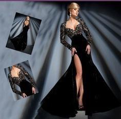 Sukienka z aksamitu – wraz z charakterem, choć łagodny