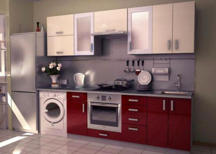 Cucine con lavatrice top cucina betulla con piano lavoro - Lavatrice in cucina ...