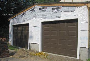 Podnoszenia bramy do garażu z rękami: rysunków, produkcja, materiały, instalacja