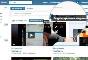 """Jako """"VKontakte"""" Hide video: Instrukcje"""