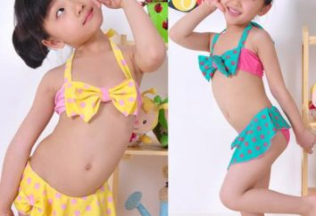 maillots de bain pour enfants pour les filles