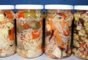 Domowe sałatki warzywne w zimie: recepty