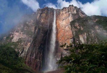 Qual è l'altezza della caduta di acqua nella cascata Angelo