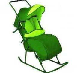 Kinderschlitten Rollstuhl. Verbraucher-Bewertungen