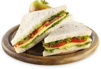 Sandwich: receitas pequeno-almoço saudável