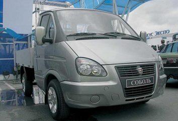 Car GAZ 2310: spécifications techniques, photos et commentaires