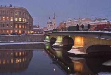 Fontanka rzeka: historia, zdjęcia