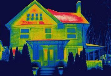 Câmera infravermelha – os materiais estão em ordem