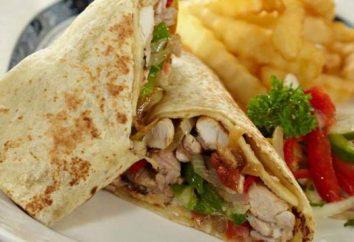 shawarma dietetico a casa: ricette