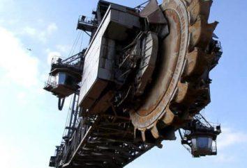 La excavadora más grande en el mundo, ¿qué es?