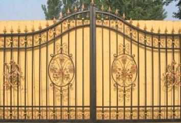 Cancello in ferro battuto – un capolavoro con le proprie mani