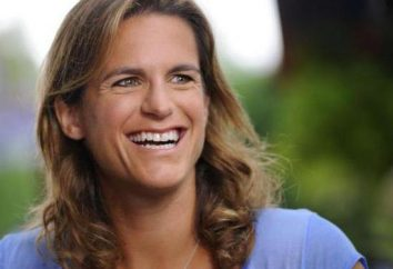 Amateur de tennis français Amelie Mauresmo: biographie et photos