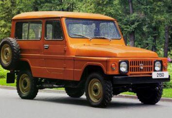 """""""Moskvich-2150"""", SUV z przeszłości: specyfikacje, zdjęcia"""