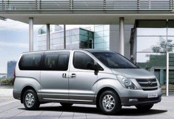 """Samochodów """"Hyundai H1"""": opis, dane techniczne, opinie"""
