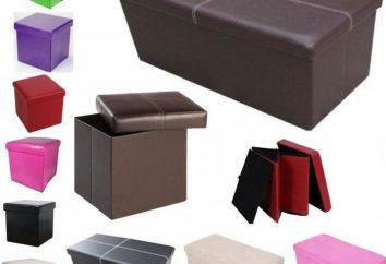 Puf z pudełka do przechowywania – zastaw komfortu w korytarzu