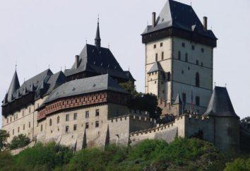 Zamek Karlstejn w Republice Czeskiej