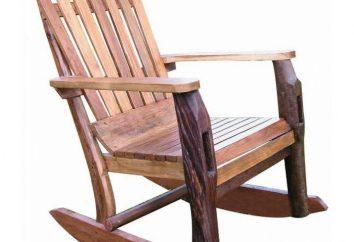 Krzesło obrotowe ze sklejki ręcznej: materiały, rysunki i instrukcje