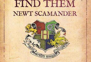 """""""animali magici e dei loro habitat"""" (JK Rowling.): costituzione, il mantenimento, recensioni"""