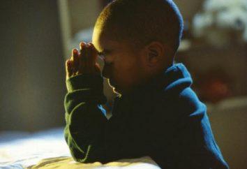 Was soll das Gebet für die Gesundheit von Kindern