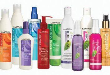 """""""Matrix"""" – uno shampoo, vernici e la cura per i prodotti per capelli"""