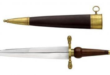 Um protótipo de uma baioneta rifle – Bagineti
